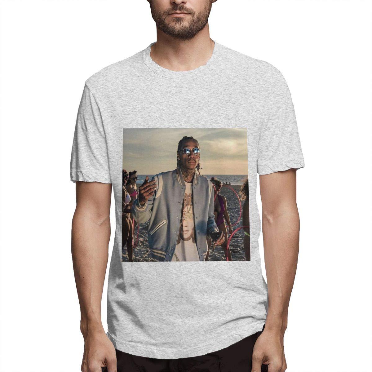 Lihehen Mans Wiz Khalifa Fashion Leisure Round Neck T Shirt