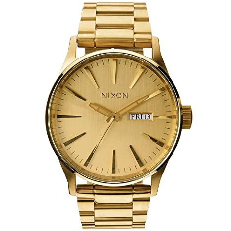 Nixon Reloj analógico para Hombre de Cuarzo con Correa en Acero Inoxidable A356-502-00: Nixon: Amazon.es: Relojes