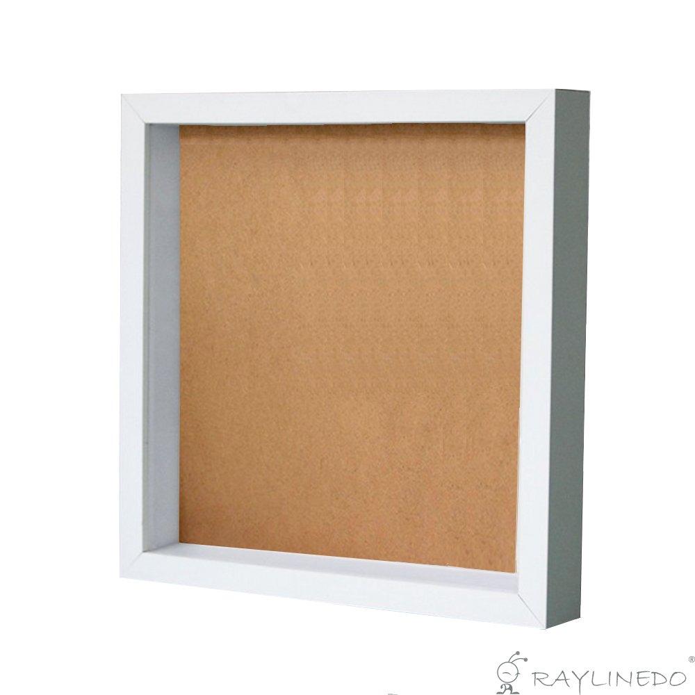 Weiß 3D Deep Picture Fotorahmen Display Aufbewahrungsbox für Probe ...