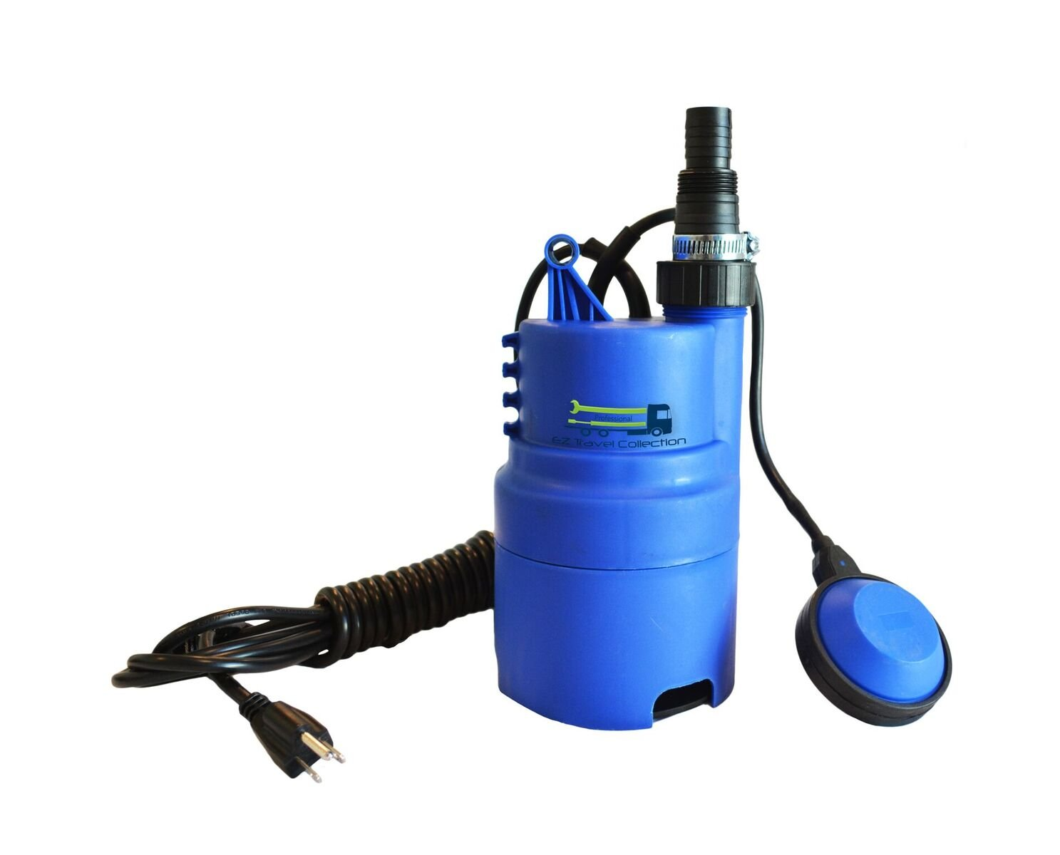 EZ Travel Collection Submersible Pool Draining Water Pump (1,580 Gallons Per Hour)