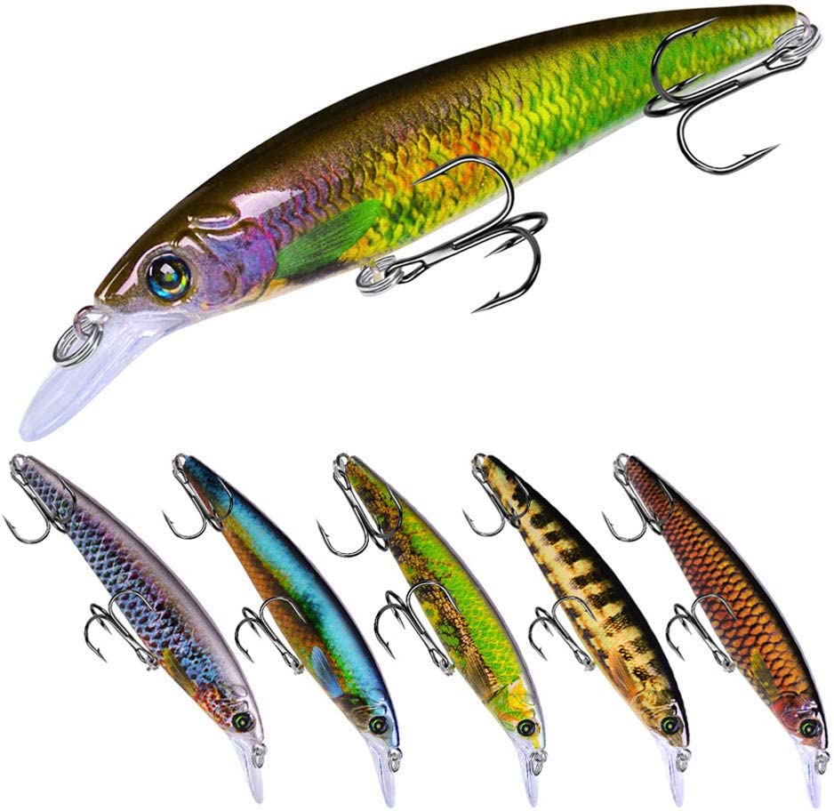 Details about  /3 Pieces Artificial Soft PVC Baits Lifelike 3D Eyes Fork Tail Fishing Lures