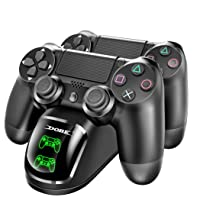 Dobe PS4 Controller Charging Docking Station with LED Light