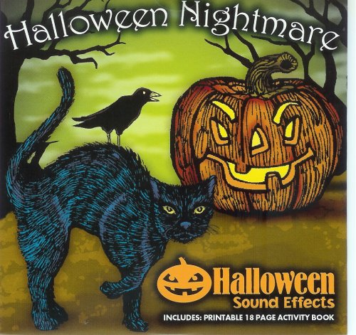 Halloween Nightmare Sound Effects & Activity Print-out