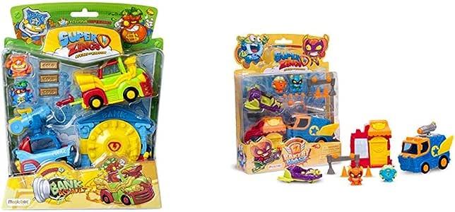 Superzings - Mission: Bank Asault + - Rivals of Kaboom: Bakery Mission (Magic Box INT Toys SZS0401): Amazon.es: Juguetes y juegos