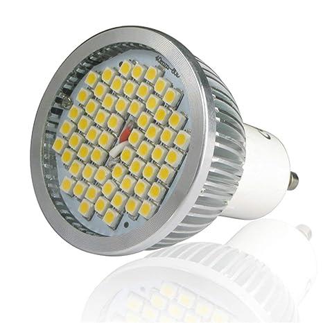 Bombillas LED Super luminosas de la serie 4.5 a 10 W de la serie GU10,