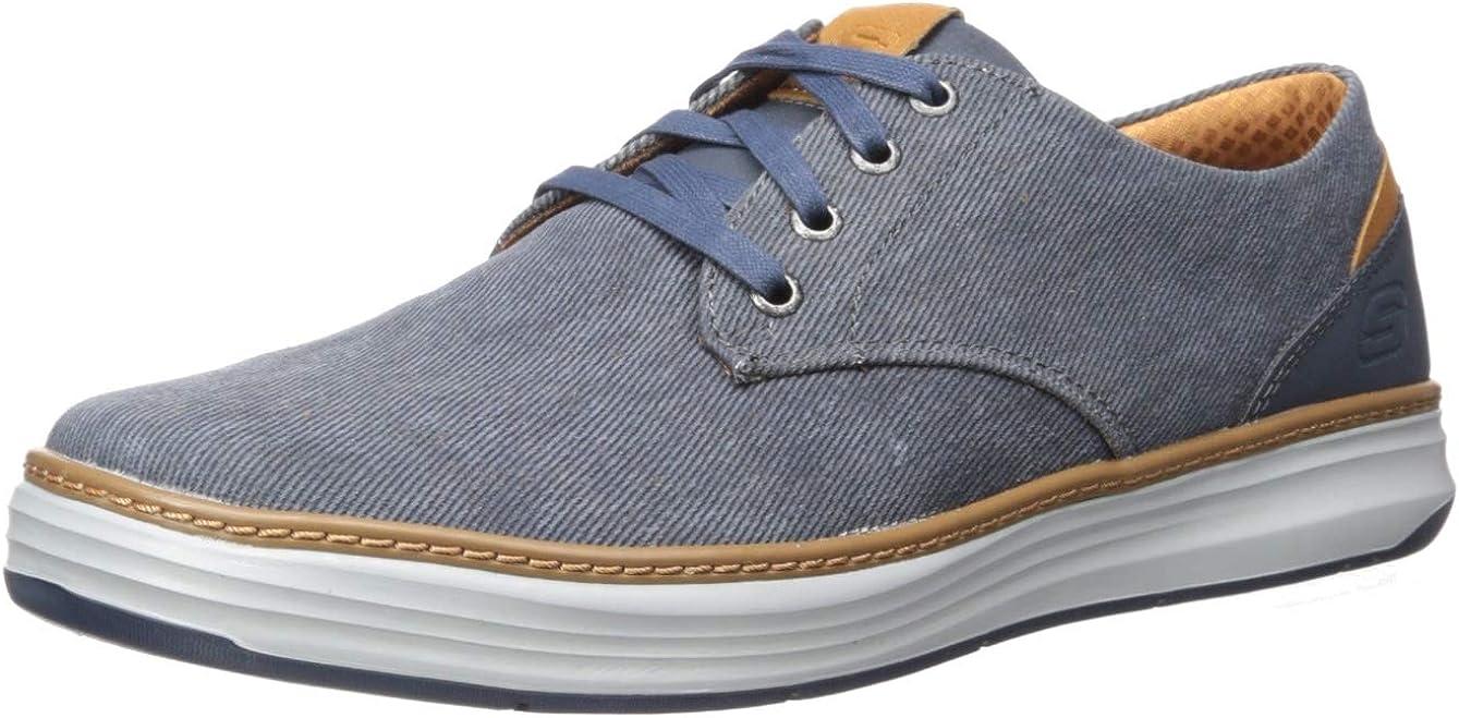 Moreno Canvas Oxford Shoe