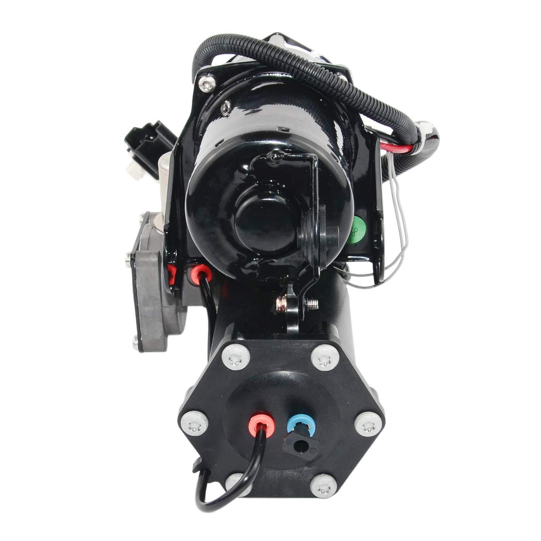 Air Suspension Compressor Pump /& Relay LR015303,LR023964 For Land Range Rover Sport LR3 LR4