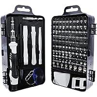 Juego de destornilladores 115 en 1-Limon Destornilladores de precisión extraíble profesional magnética kit de…