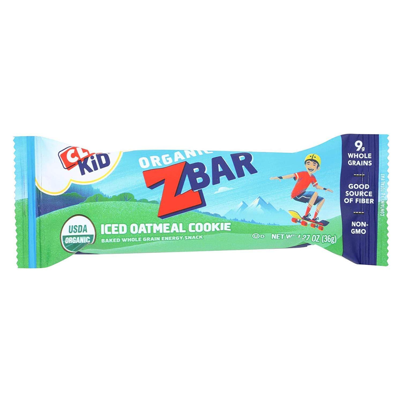 Clif Bar Orgánica Clif Kid ZBar – galleta de avena helada ...