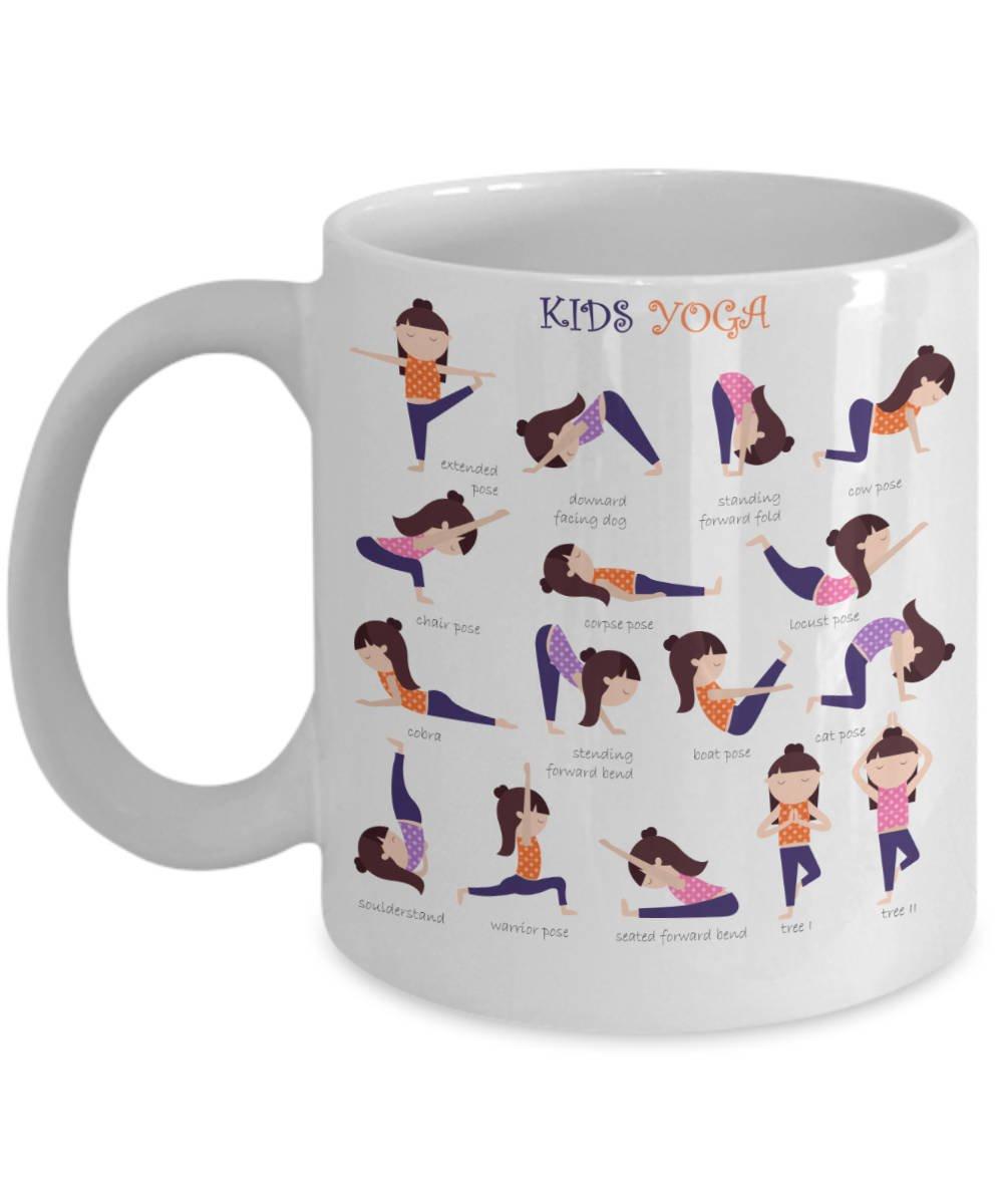 Taza de café para yoga, regalo de cumpleaños, regalo para el ...