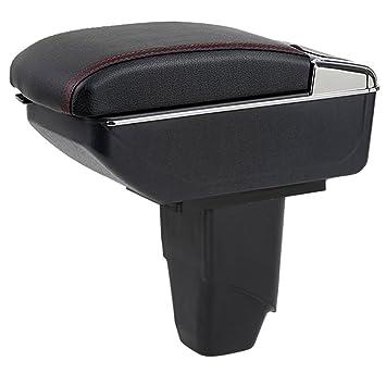 Maiqiken Voiture Accoudoir Box Accoudoir pour 206 207 2006\u20132013 Cendrier de  Rangement intérieur de