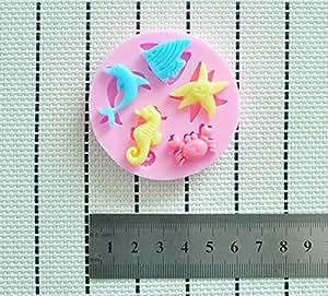 Martha art craft dise o de figuras kit de decoraci n - Moldes silicona amazon ...