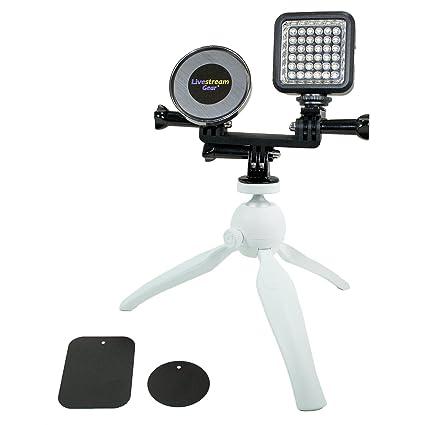 Amazon.com: livestream Gear – Teléfono y LED Sistema de ...