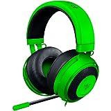 RAZER Kraken Pro V2 - Over-Ear Prise jack  Casque Gaming Headset Analogique, Over-Ear Casque Gamer pour PC et PS4, Vert