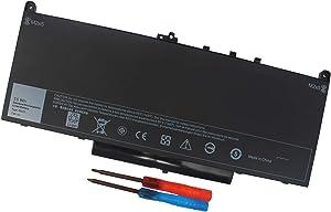 J60J5 Laptop Battery for Dell Latitude E7270 E7470 Series Notebook P26S001 P61G001 R1V85 451-BBSX 451-BBSY 451-BBSU MC34Y 242WD PDNM2 0MC34Y 7.6V 55WH
