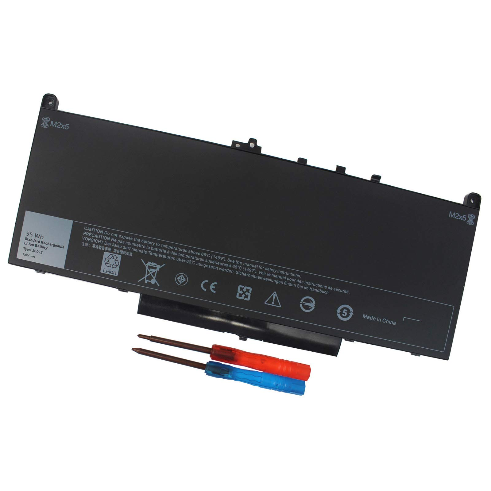 Bateria Domallk J60j5 Dell Latitude E7270 E7470 Series R1v85