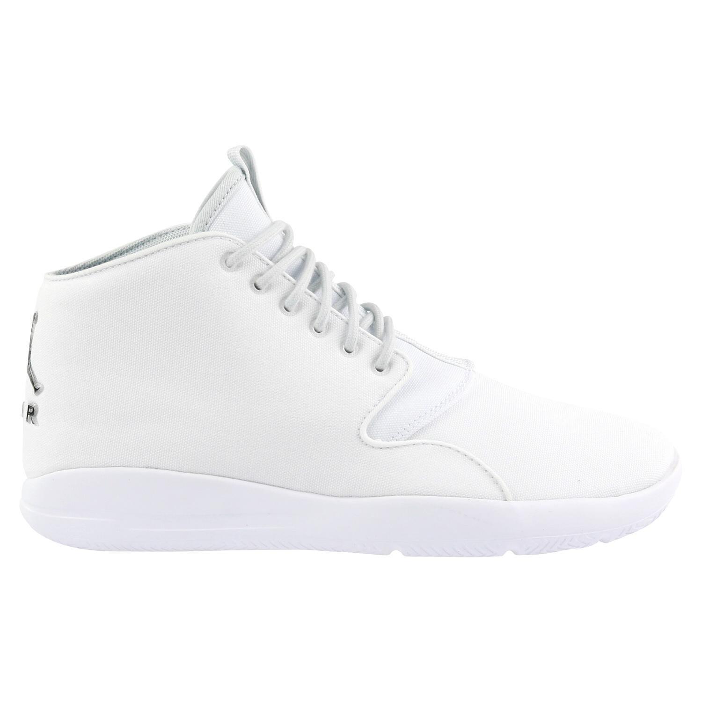 Nike Herren Jordan Eclipse Chukka Sneaker  46 EU|Wei? (White/Pure Platinum/Black)
