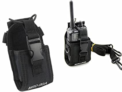MSC-20A Universal Two Way Radio Case Pouch Bag For Baofeng Motorola Kenwood New
