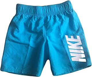 Nike Boys Swim Shorts Board Shorts Trunks (Blue, 8)