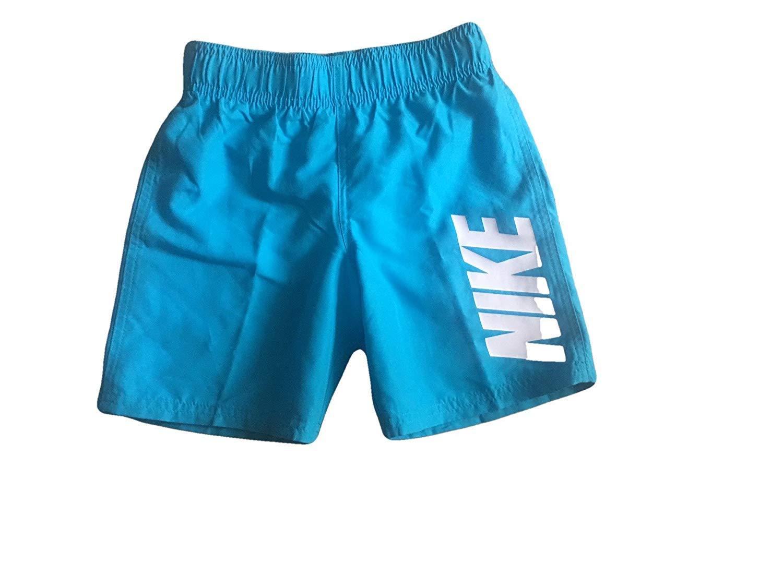 Nike Boys Swim Shorts Board Shorts Trunks (Blue, 5)
