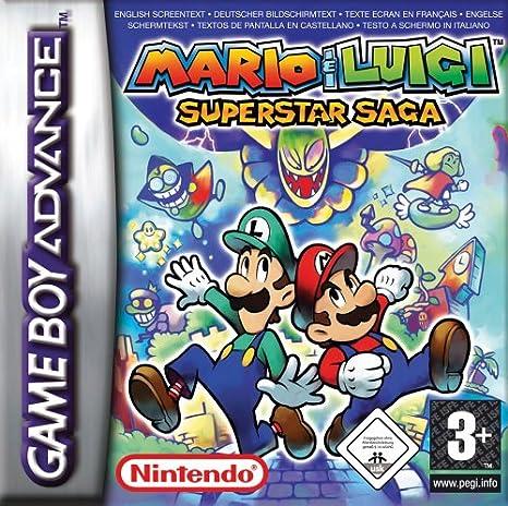 best GameBoy Advance games - mario superstar saga gba