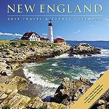 New England 2019 Wall Calendar