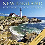 New England 2019 Wall Calendar