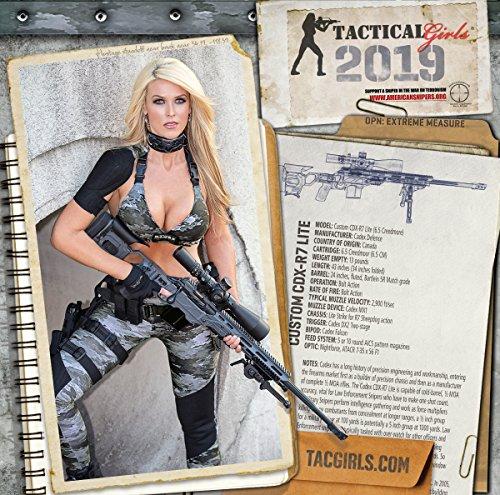 2019 Tactical Girls Gun Calendar -