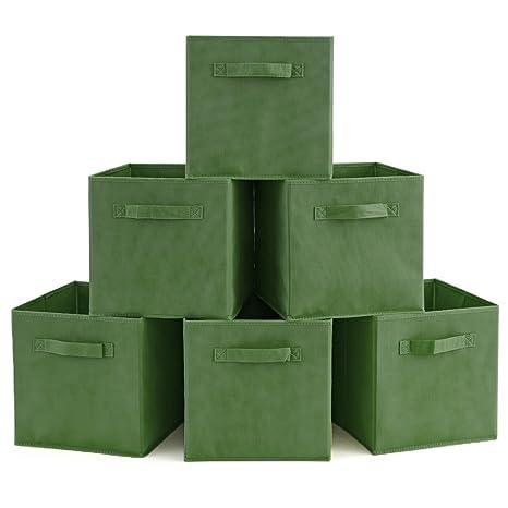 EZOWare Caja de Almacenaje con 6 pcs, Set de 6 Cajas de juguetes, Caja