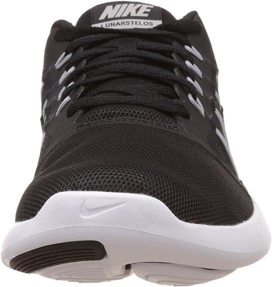 Nike Lunarstelos, Chaussures de Running Homme, Noir (Black