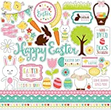 Echo Park Celebrate Easter Element Sticker Sheet
