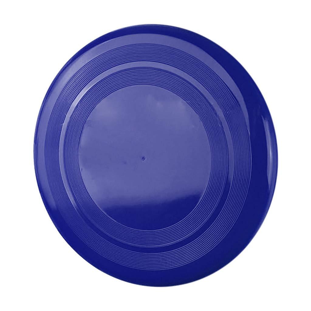 Blau, Wie Gezeigt Qomomont 1Pc Mini Hand Thorwing Fliegende Scheibe Familie Spielzeug Lustige Aktivit/ät Flying Disc Indoor Outdoor Spiel Mini UFO Multicolor