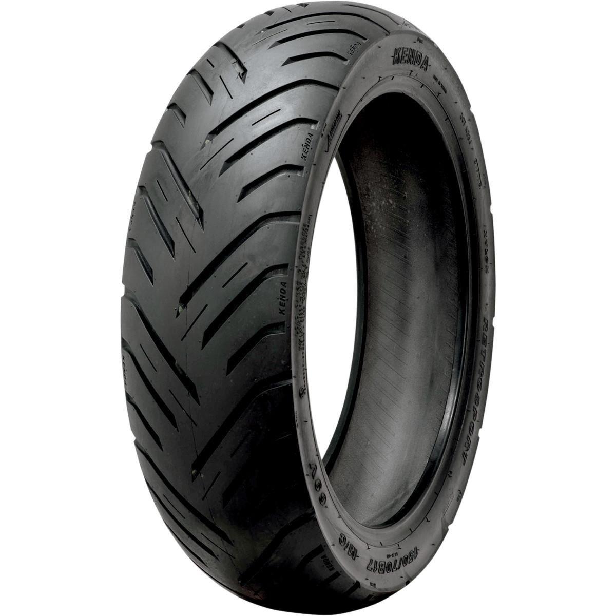 Kenda K676 RetroActive Tire - Rear - 150/80B-16 , Position: Rear, Rim Size: 16, Tire Application: Sport, Tire Size: 150/80-16, Tire Type: Street, Speed Rating: V, Tire Construction: Bias 133Q1000