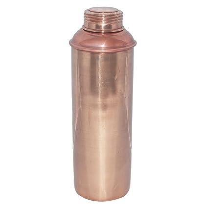 Yadav Handicrafts Pure Copper Water Bottle Pitcher For Ayurvedic