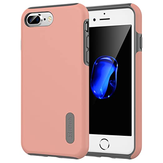 9 opinioni per iPhone 7 Plus Custodia, JETech Due-Strato Sottile Protettivo iPhone 7 Plus Case