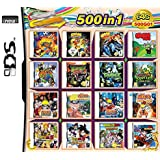 DALUHE 500 in 1 Games NDS Game pack Super Combo Cartridge DS Game Card for DS NDS NDSL NDSi 3DS XL New
