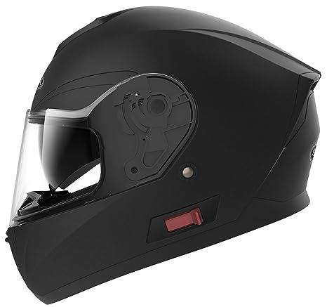 YEMA Casco Moto Integral ECE Homologado YM-831 Casco de Moto Scooter para Mujer Hombre