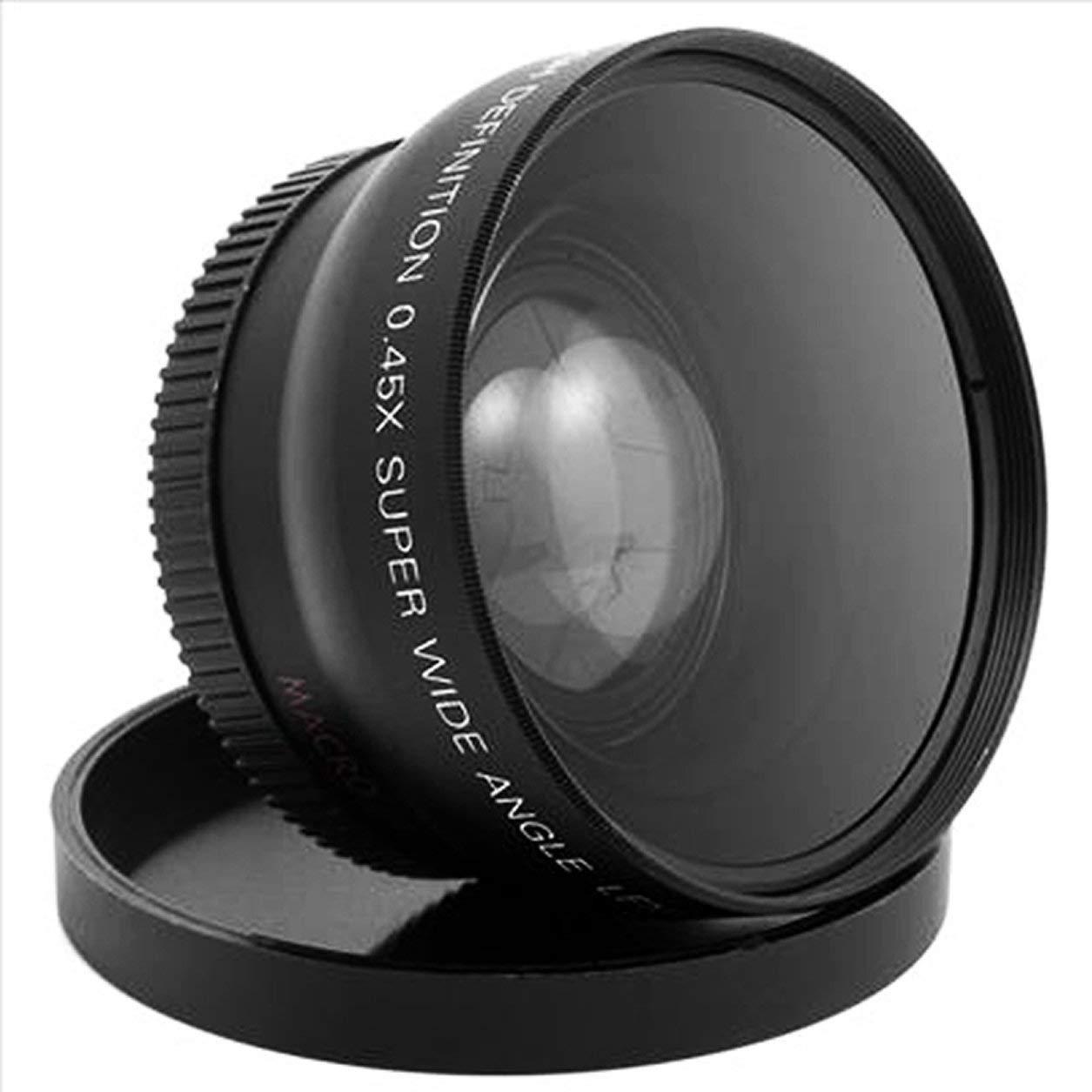52mm x 0,45 Lente Macro Angular para Nikon D3200 D5100 D3100 D5200