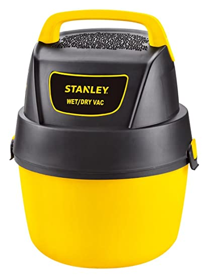 1 Gallon 1.5 Horsepower Stanley Wet//Dry Vacuum with Wall Mount