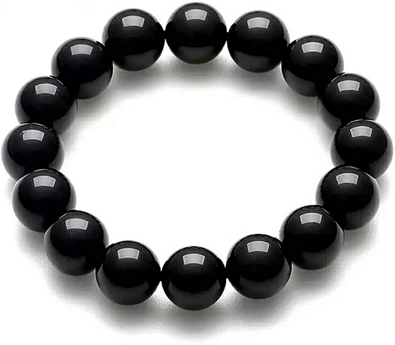 Free Shiping 10 mm Natural Gemstone Round Beads Stretch Bracelets