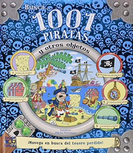 BUSCA 1001 PIRATAS Y OTROS OBJETOS (Busca y encuentra) por IGLOO BOOKS LTD,WRIGHT CASTRO, KATHERINE