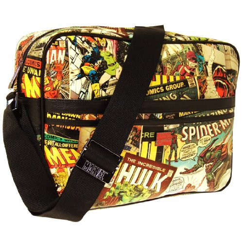 Marvel Retro Messenger Bag