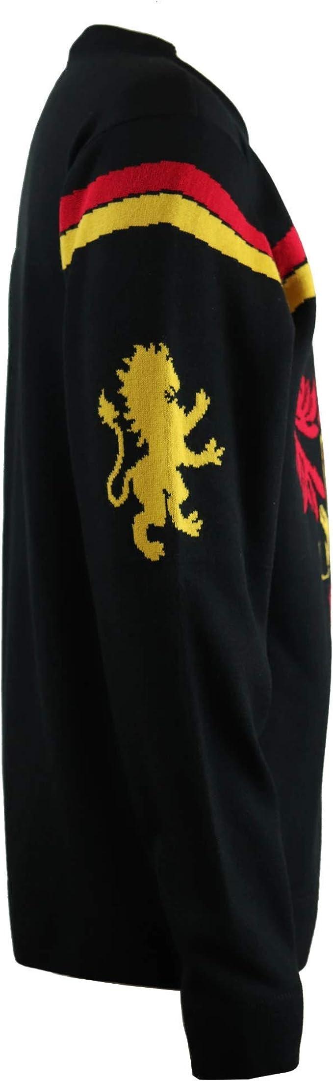HARRY POTTER Jersey de Navidad de Punto con Cresta de Gryffindor Unisex