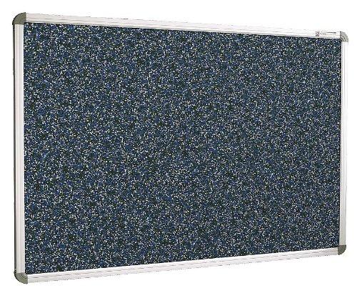 Balt / MooreCo - 321RF-97 - Blue RubberTak Bulletin Board, Aluminum Frame Material, 60 Width, 48 Height -