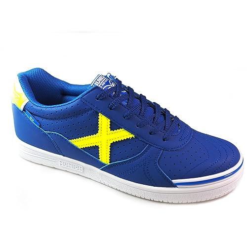 Zapatillas Fútbol Munich G3 3119205 Azul: Amazon.es: Zapatos y complementos
