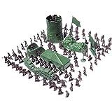 100pcs Combat De L'armée Jeu Soldat Mis Jouet Militaire Enfant Ami Cadeau