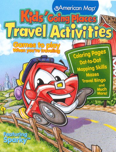 Download Kids' Going Places Travel Activities: Games to Play When Traveling pdf epub