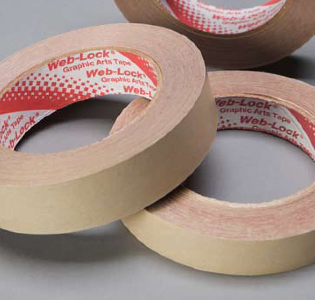 Web-Lock DN-31 Double Sided Splicing Tape 2'' Wide x 60 yd. x 6 ROLL PACK