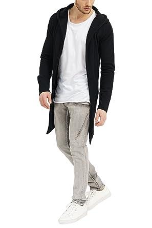 mode de vente chaude matériaux de haute qualité bonne vente trueprodigy Casual Homme Veste Sweat uni Basique, Vetements Swag Marque a  Capuche (Manche Longue & Slim fit Classic), Cardigan Mode Fashion