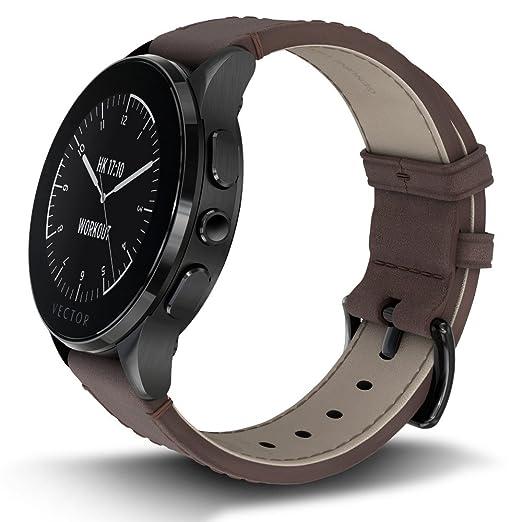 Vector Watch L1 – 10 – 004 Smart Watch para iOS/Windows/Android (30 días duración de la batería, Caja) Negro